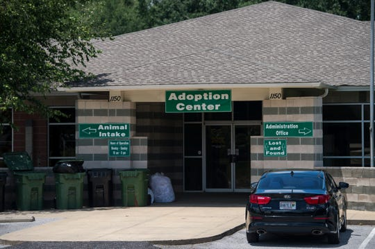 The Montgomery Humane Society in Montgomery, Ala., on Wednesday, July 24, 2019.