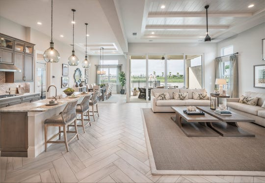 The Heritage Collection at Azure at Hacienda Lakes is offering two quick delivery homes that will be move-in ready this fall, including the popular Avery home design.