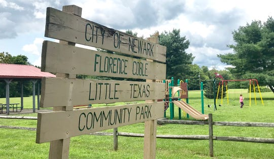 The city has installed new equipment at Coble Park on Ohio Street.