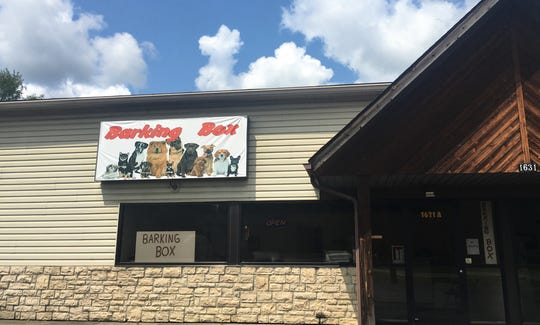 Barking Box, now located at 1631 Mt. Vernon Road.
