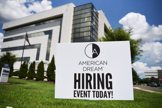 American Dream in East Rutherford NJ looking to hire 300