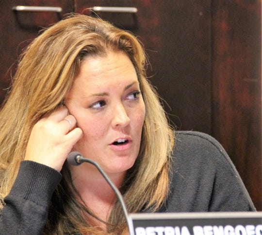 City Attorney Petria Bengoechea informs City Commissioners changes to the ordinance will make Alamogordo's law on possession of marijuana concurrent with the recently passed Cannabis Decriminalization Law.