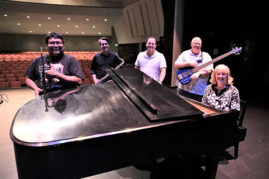 The new Fetz X-Tet consists of several veteran and accomplished local musicians, including Delbert Anderson, left, Alex Olivas, Teun Fetz, Tom Maddox and Robyn Woodard.