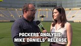 Ryan Wood and Olivia Reiner discuss the Packers' decision to release seven-year veteran defensive lineman Mike Daniels.