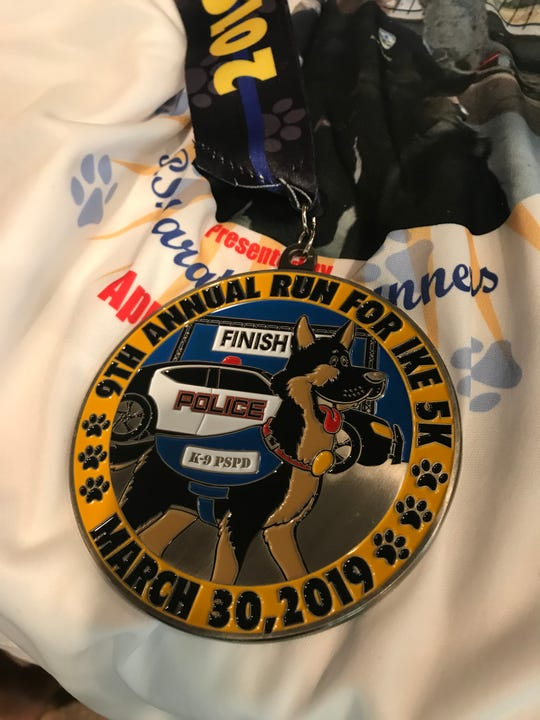 The Run for Ike 5K was launched in 2011 after a Palm Springs police K-9 was shot and killed in the line of duty.