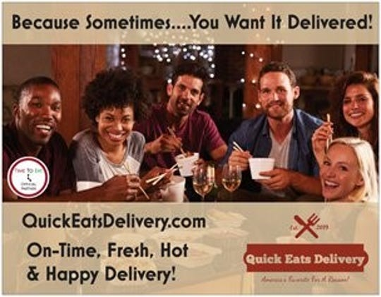 Quick Eats Delivery is launching out of Pensacola in late August to deliver restaurant meals and grocery items to local users.