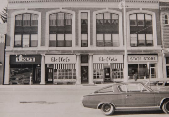 An undated photo of Kleffel's Department store when it was located at 39 Baltimore St.