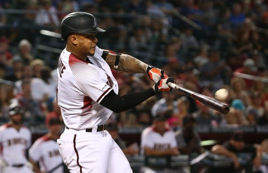 Ketel Marte is becoming a star for the Arizona Diamondbacks.