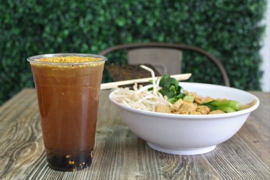 Bubble Noodle in Mesa serves vegan ramen and boba tea.