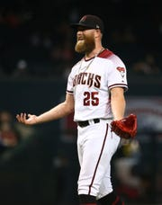 "According to one writer, the Arizona Diamondbacks' Archie Bradley ""would fit in any contender's bullpen."""