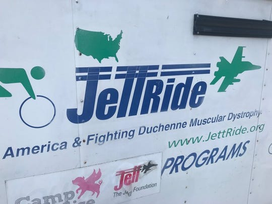 The equipment van that houses their gear also made it to Lebanon on Wednesday just ahead of the JettRiders.