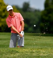 Littlestown's Devin Peart, seen here in a file photo, won the Boys' 15-18 Blue Division title during a York County Junior Golf Association event at Honey Run on Monday.