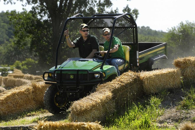 Wayne County commissioners have postponed their decision on an ordinance that would allow off-road vehicles such as this one to be operated on county roads until their Aug. 7 meeting.