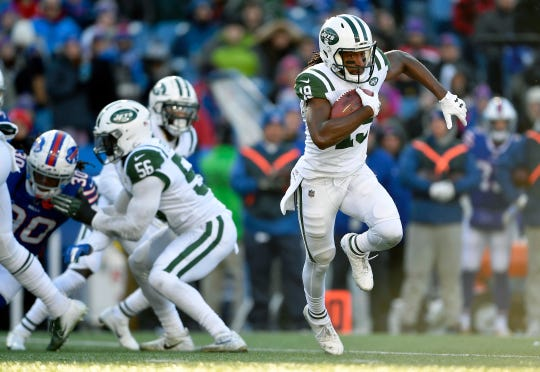 Andre Roberts gave the Bills fits on special teams while playing for the Jets last season. Roberts signed as a free agent in the offseason to help boost Buffalo's return game.