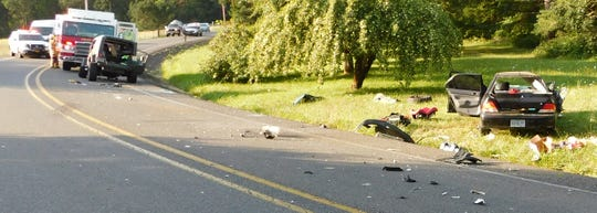 Two are dead following a crash on Brush Creek Road in Linn County Tuesday evening.