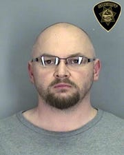 Eric Schrecengost, 37, of Keizer, was arrested on rape charges Tuesday.