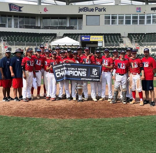 Next Level Baseball 18U won the 2019 Perfect Game 18U World Series in Fort Myers.