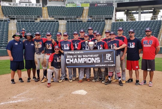 Next Level Baseball 18U won the Perfect Game 18U Southeast Championship for the third year in a row.