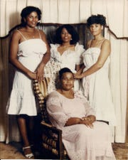 Ruby Freeman and her three daughters.