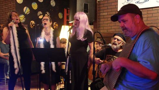 Peach Diamond Line will perform with Ontological Elephants at Blue Tavern Thursday.
