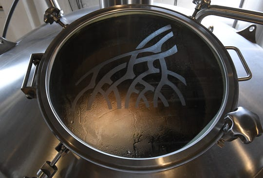 Boiling of the wort, the next phase of creating a batch of craft beer for one of the Indian River Press Journal beers for the Vero Beach Centennial on Monday, July 15, 2019, at the Walking Tree Brewery in Vero Beach.