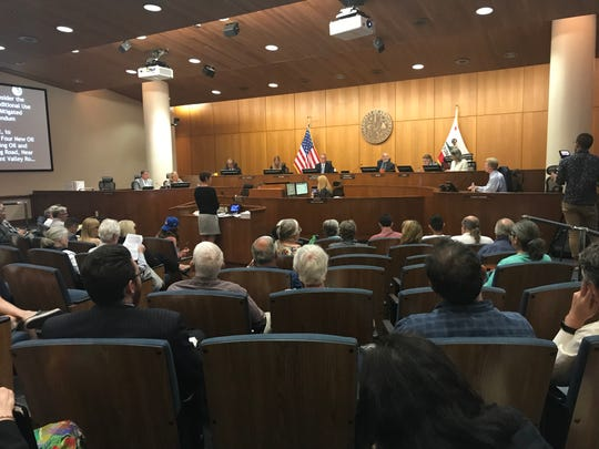 During the Board of Supervisors meeting on Tuesday, there were more than 50 speakers who addressed county leaders on the proposal for new oil wells near Oxnard.