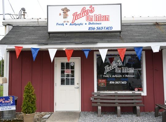 Julio's On Main specializes in Mexican cuisine to-go and is located at 1370 South Main Road in Vineland.