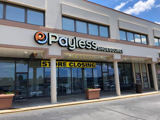 Payless ShoeSource is one of about a half-dozen stores to close in the Prices Corner shopping center in the last two years. Thousands of Payless stores are closing nationwide.