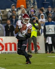 Wichita Falls High School graduate O.J. Clark is entering his senior season for New Mexico State with a chance to finish as one of the most productive pass catchers in program history.