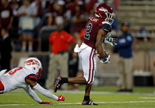 O.J. Clark is entering his senior season for New Mexico State with a chance to finish as one of the most productive pass catchers in program history.