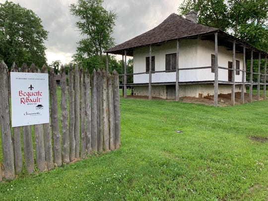 The Bequette-Ribault House is one of two privately-owned, historic poteaux-en-terre-constructed houses in Ste. Geneviève. However, it  will likely be made publicly accessible via a partnership with the National Park Service.