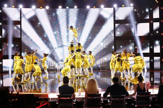 """America's Got Talent"" acrobatic dance group, V. Unbeatable."