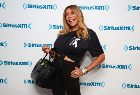 Wendy Williams attends SiriusXM Town Hall with Wendy Williams hosted by SiriusXM host Karen Hunter at SiriusXM Studios on July 23, 2019 in New York City.