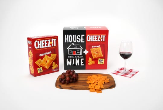 This Cheez-It mash-up product is $25 on the House Wine website .