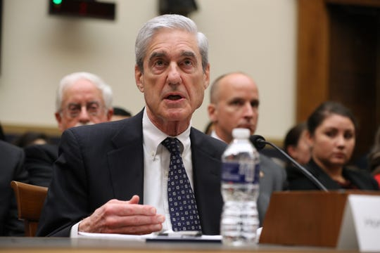 Former Special Counsel Robert Mueller testifies before the House Judiciary Committee about his report on Russian interference in the 2016 presidential election on Capitol Hill on July 24, 2019