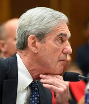 Former special counsel Robert Mueller testifies before the House Judiciary Committee in Washington on July 24, 2019.