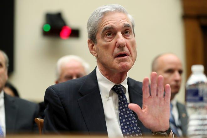 Former special counsel Robert Mueller testifies.