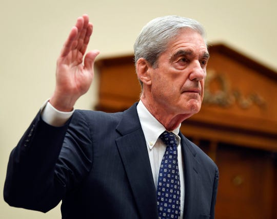 Feeble particular counsel Robert Mueller is sworn in earlier than testifying earlier than a Dwelling Judiciary Committee listening to on  Russian interference in the end of the 2016 presidential election, on Capitol Hill in Washington, July 24, 2019.