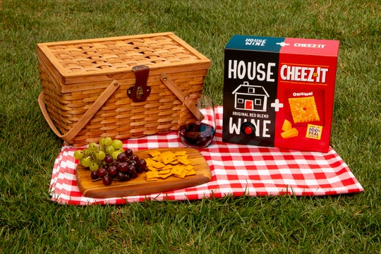 If you're a fan of wine and Cheez-Its, Kellogg's has come up with an easier way to enjoy them both.