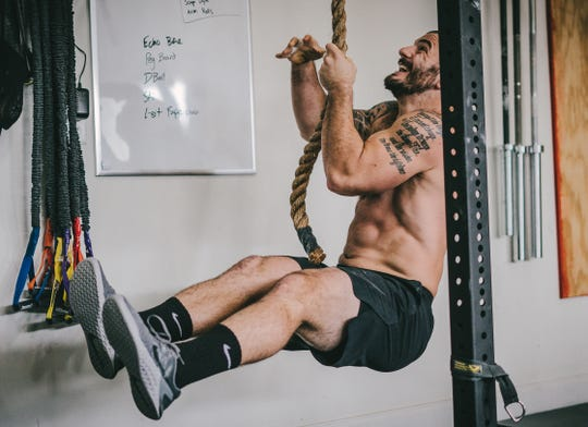 Three-time CrossFit champion Mat Fraser takes only one day a week off - Monday.