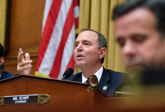 Rep. Adam Schiff, D-Calif., the chairman of the House Intelligence Committee, has proposed a bill to allow federal law enforcement to pursue domestic terror suspects as they would international operatives.