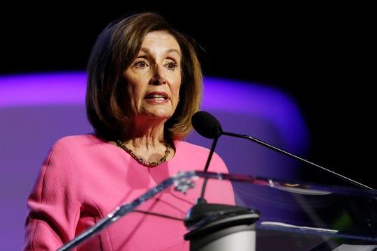 House Speaker Nancy Pelosi in Detroit on July 22, 2019.