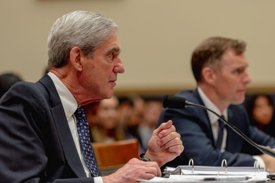 Former Special Counsel Robert S. Mueller, III testifies to House Judiciary Committee and the House Intelligence Committee on 'the Investigation into Russian Interference in the 2016 Presidential Election.' Mueller - who investigated alleged Russian interference during the 2016 presidential election - said in May that his report 'speaks for itself.'
