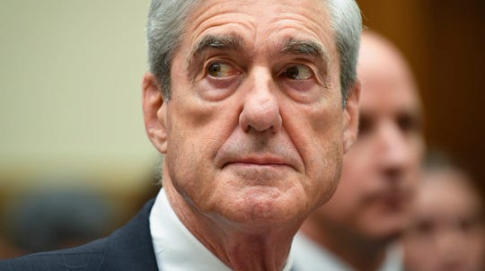 Former special counsel Robert Mueller testifies before the House Judiciary Committee on Russian interference during the 2016 presidential election, on Capitol Hill in Washington, July 24, 2019.