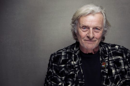 Rutger Hauer, pictured at Sundance Film Festival in 2013, has died.