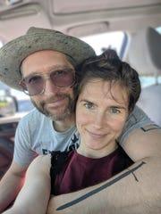 Amanda Knox and Christopher Robinson. Photo courtesy of Amanda Knox and Christopher Robinson.