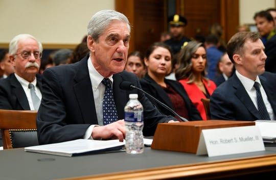 Former special counsel Robert Mueller testifies to House Judiciary Committee on 'Oversight of the Report on the Investigation into Russian Interference in the 2016 Presidential Election.' Mueller, who investigated alleged Russian interference during the 2016 presidential election, said in May that his report 'speaks for itself.'