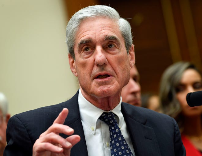 Former Special Counsel Robert Mueller, testifies for the House Intelligence Committee hearing on the 'Investigation into Russian Interference in the 2016 Presidential Election.'