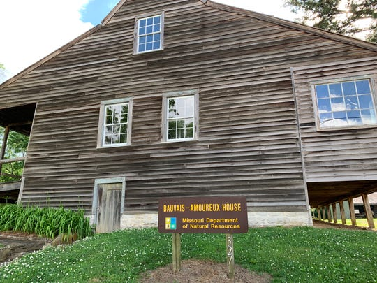 Built in the 1790s, Amoureux House was occupied until the 1960s but is now run by the National Parks Service.