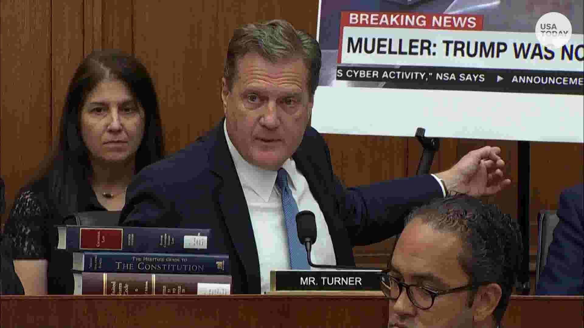 Robert Mueller testimony: Michael Turner says no one can exonerate